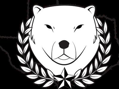 Logo for a Buddy logo bear texas