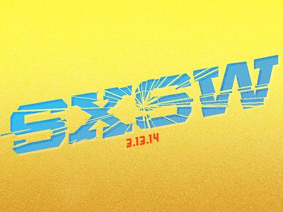 Remember SXSW 2014 sxsw illustrator poster