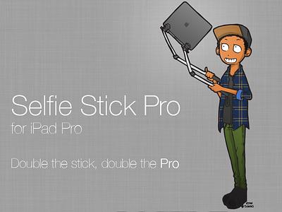 Selfie Stick Pro selfie stick pro ipad technology drawing photoshop illustrator apple