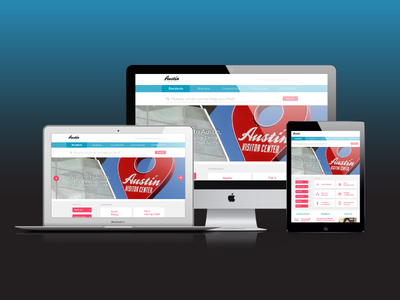Austin Government Website Redesign responsive devices concept mockup web redesign ux ui texas austin