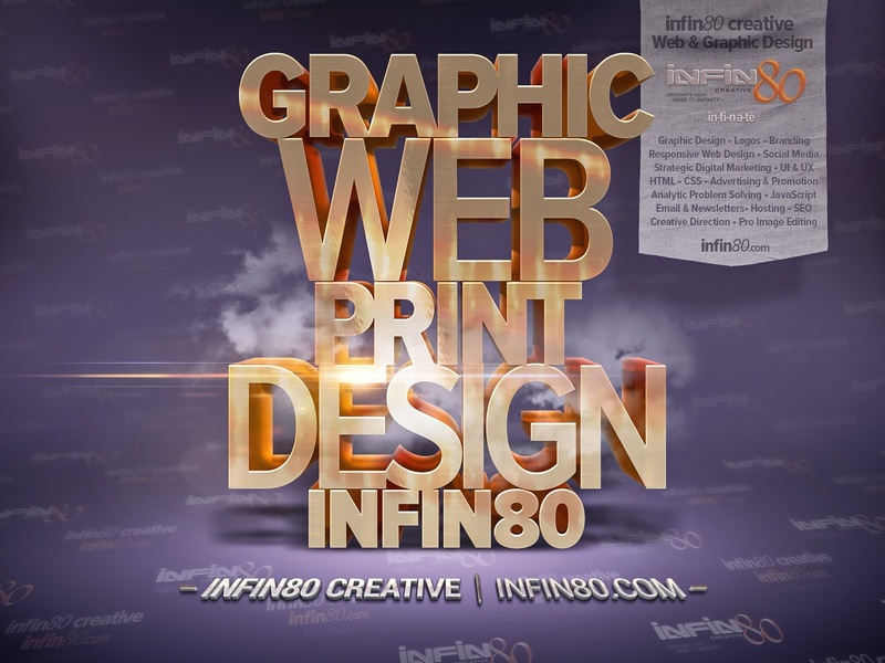 Graphic Design Creative Typography Posters