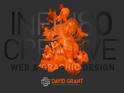 Self-Promotional Print Web & Graphic Designer David Grant
