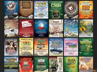 Casino Event Promotional Marketing & Graphic Design Poster