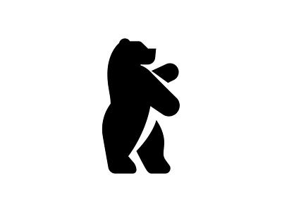 Bear bold logo mark coatofarms strong bear