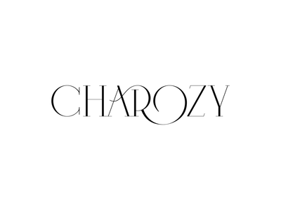 CHAROZY store letter design typedesign typography confectionary