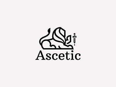 Ascetic life king brave lion ascetic