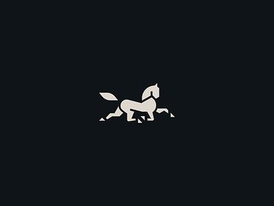 Horse stamp co blacksmith steel horse