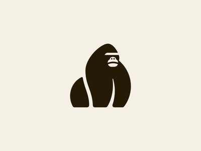 Gorilla jungle strong brave wild monkey gorilla