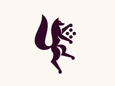 FOX ball coatofarms truffle chocolate heraldry crest sheild fox