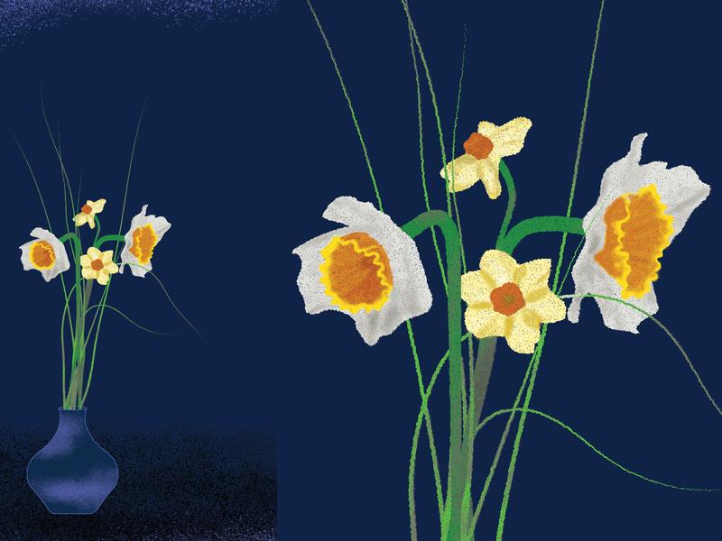 Glitchy Flowers