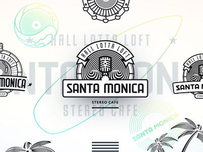 Santa Monica logo.