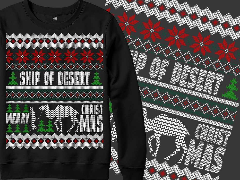 55786e0d5b75c3 Ugly Christmas Sweater Design by aziz mia