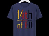 Grandmother's day T Shirt Design