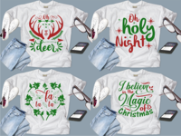 Christmas Tshirt design project