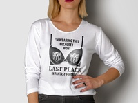 Woman Long Sleeve T Shirt Mockup