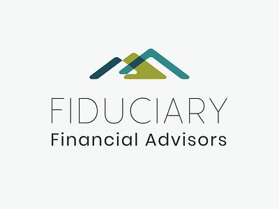 Fiduciary Financial Advisors — Logo Rough brand identity logo branding