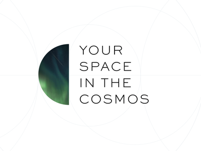 Your Space in the Cosmos — Logo brand identity branding logo