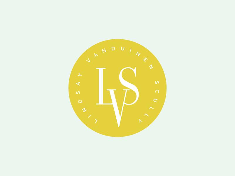 Lindsay VanDuinen-Scully Monogram branding monogram logo