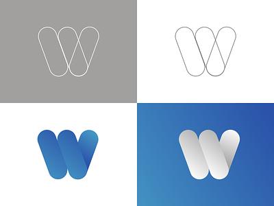 Daily UI 052: Logo Design gradients blue logo vector design uidesign ui dailyuichallenge dailyui sketch