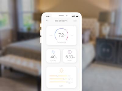 Daily UI 021: Home Monitoring Dashboard
