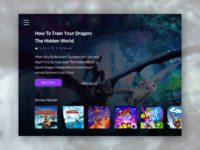 Daily UI 025: TV App