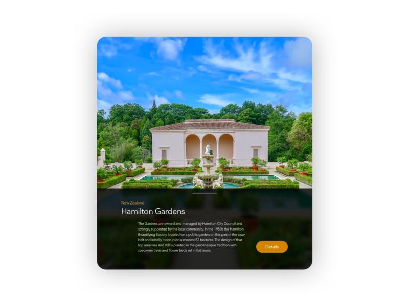 Daily UI 045: Info Card