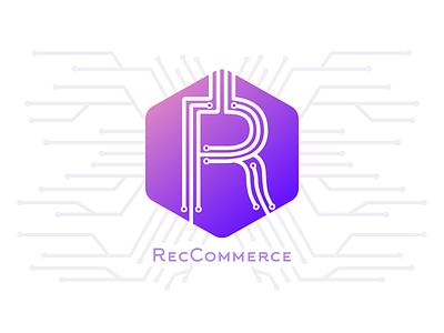 Logo Design: RecCommerce ai branding vector logo design sketch