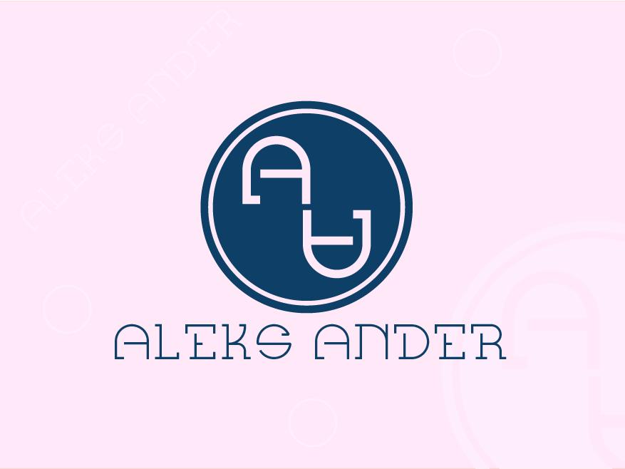 Aleks Ander icon fashion brand colorful logo web app abstract logo identity concept illustration design concept minimal brand agency design clean creative logo design vector branding logo brand identity
