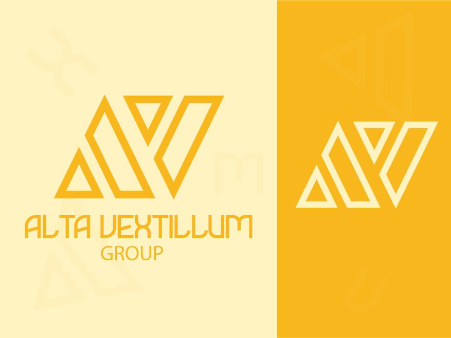 Alta Vextillum Group web fashion brand clean colorful logo abstract logo logo app concept design idenity identity minimal illustration design concept brand agency creative vector logo design branding brand identity