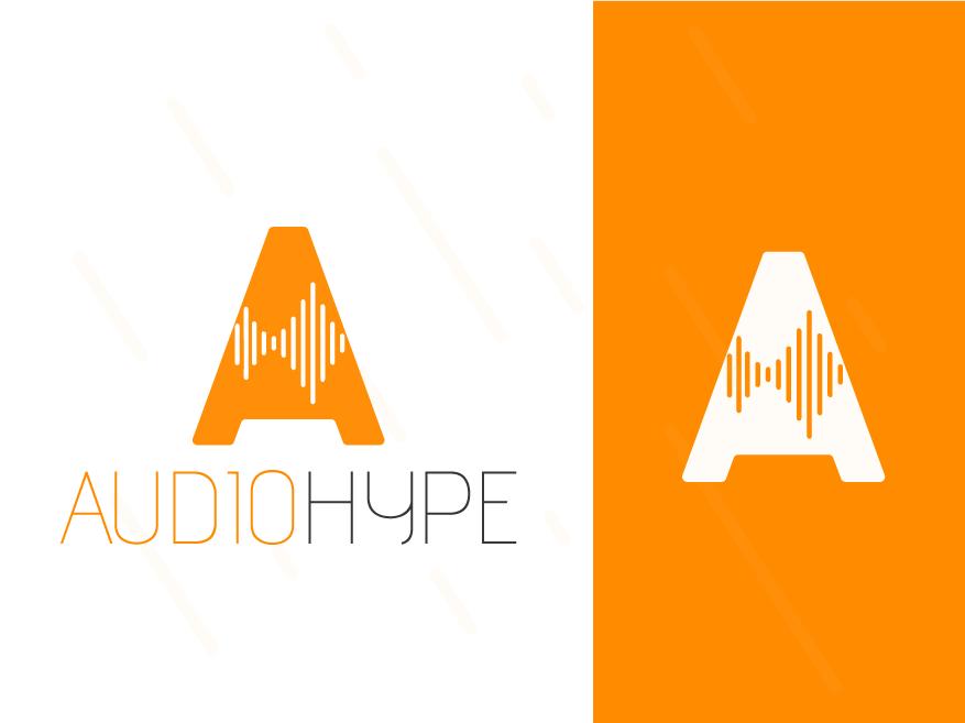 AudioHype logodesign flat web colorful logo abstract logo clean app illustration concept identity minimal design concept brand agency design creative vector logo design branding logo brand identity