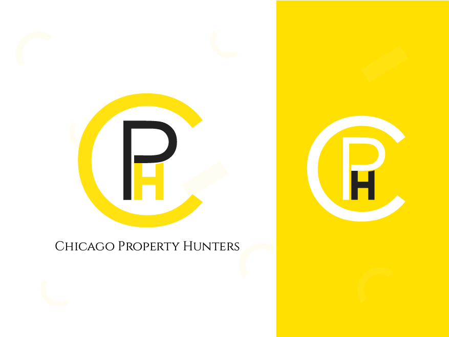 Chicago Property Hunters ui ux web app colorful logo abstract logo illustration identity concept minimal design concept design clean brand agency vector creative logo design logo branding brand identity