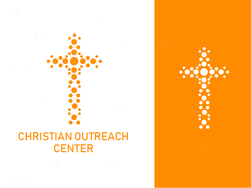Christian Outreach Centre web app colorful logo abstract logo flat icon concept identity minimal design concept design illustration clean brand agency vector creative logo design branding logo brand identity