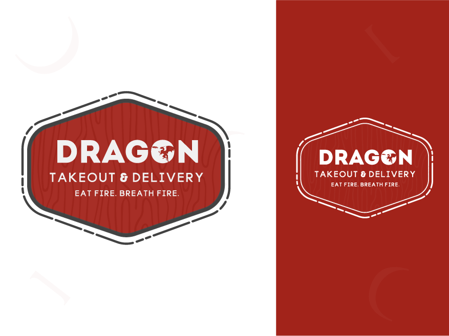Dragon Takeout ui web app colorful logo abstract logo flat icon concept identity vector minimal design concept clean design brand agency creative logo design logo branding brand identity