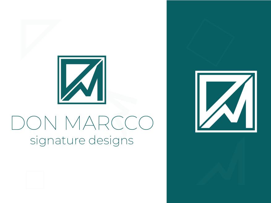 Don Marcco ui app web colorful logo abstract logo flat icon concept identity vector minimal design concept design clean brand agency creative logo design branding logo brand identity