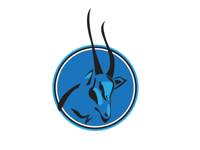 Ayil Sports Logo 03 concerpt artwork vectordesign design horns animal ram modern efficient flat team branding logo sportlogo sports clean