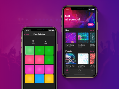 Drumpad iOs App