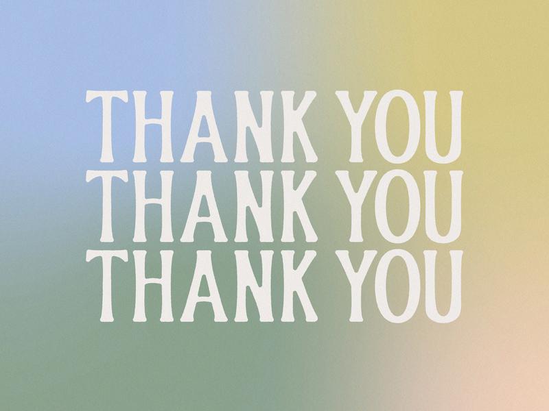 Thank You MBB! intern gradient summer thank you