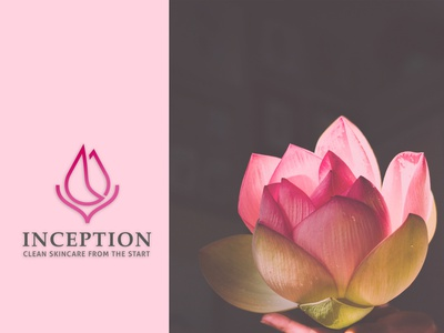 Skincare product company logo. logodesign minimal 99 designs flower logo lotus logo skincare logo design branding logo