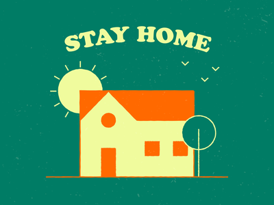 Stay Home Save Lives coronavirus stay home save lives illustrator icon web art shapes graphic  design illustration vector design
