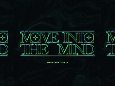 MOVE INTO THE MIND trippy retrowave electronic music mind cover album artwork photoshop illustrator logo typography art graphic  design vector design
