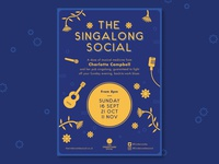 The Singalong Social Poster