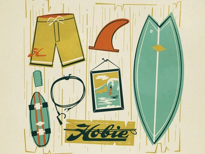 Hobie Surf Wall