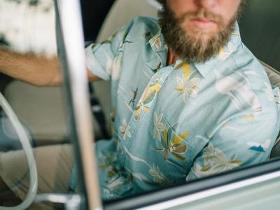Kahala x Nick Kuchar Aloha Shirt