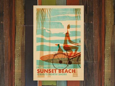 Sunset Beach Wahine