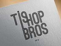 """Logo """"Ti shop bros"""""""