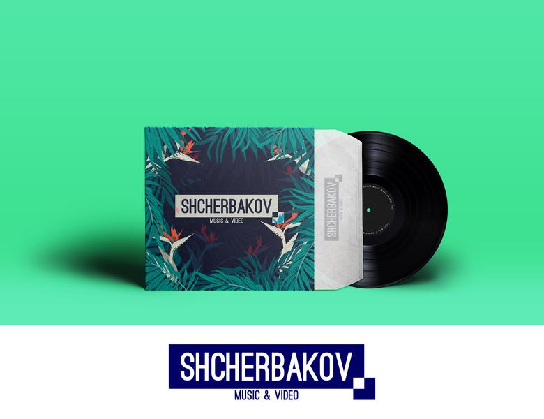 Logo Shcherbakov corel draw logotipe лого логотип mobile music and video music design logo design vector logo shcherbakov