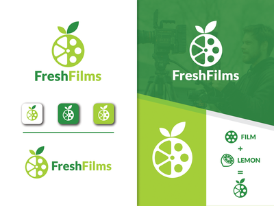 Fresh Films graphicdesigner designer art idea video barnding videoproduction film fresh design fresh vector logodesign minimalist simple creative