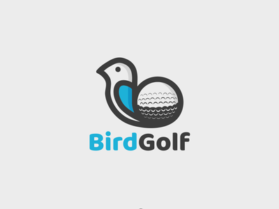 Bird Golf fun design logodesign combination mark animal design bird logo sports logo golf ball golf logo logodesigns combination logo illustration logo logos vector branding creative logodesigner designer art