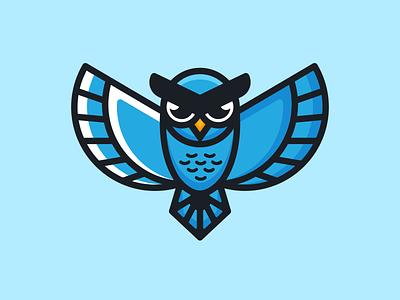 Owl Mascot combination mark animals youthful design animals design owl design fun design owl logo mascot mascot logo illustration design logos vector creative logodesigner designer art branding logo graphic design
