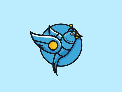 roboswarm Icon mascot design youthful logo fun design bot logo animals design birds logo robot logo combination mark combination logo illustration design logos vector creative logodesigner designer art branding logo graphic design